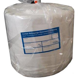Vliestuchrollen für Flächendesinfektionstücher