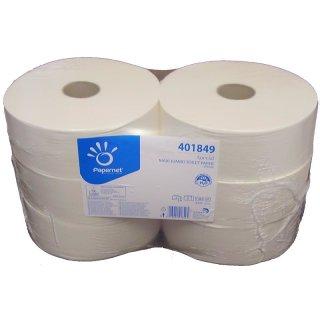 Toilettenpapier Jumbo, Zellstoff, 2 lg., 6 Rollen x 360 m
