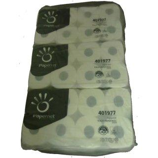 Toilettenpapier Zellstoff, hochweiß, 3 lg., a 72 Rollen x 250 Blatt