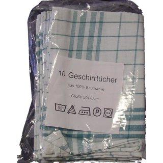Geschirrtuch Baumwolle, 50 x 70 cm, a 10 Stück
