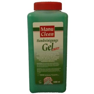 Manu Clean Handreinigungsgel a 1 L
