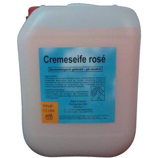 Cremeseife rose, a 10 L