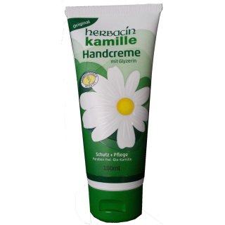 Herbacin Kamille Handcreme Original, a 100  ml Tube