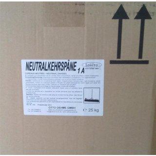 Neutralkehrspäne a 25 kg