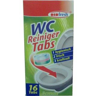 WC Reiniger Tabs, a 16 Stück/Pack