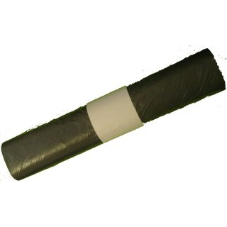 Müllbeutel 30l, grau, stark, 50 Stück/Rolle