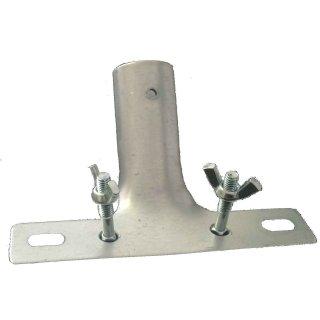 Stielhalter aus Metall mit Schrauben