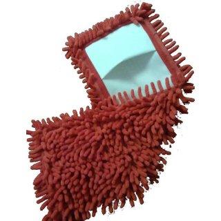 Microfaserbezug Chenille, mit Taschen, 40 cm
