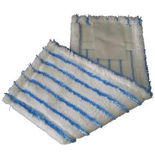 Microfaser - Borstenmop, weiß/blau, a 40 cm