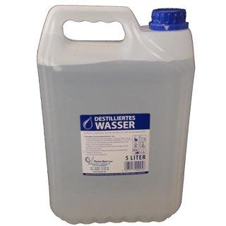Destilliertes Wasser a 5 l